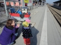 Ausflug zum Bahnhof