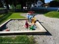 Sandkiste des Spielplatzes Tanner Straße