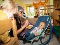 Babys in der Kinderkrippe